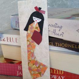 geisha doll origami pattern