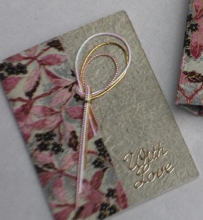 mizuhiki loop card
