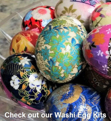 yuzen washi egg B43