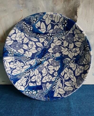ceramic transfer paper camellia