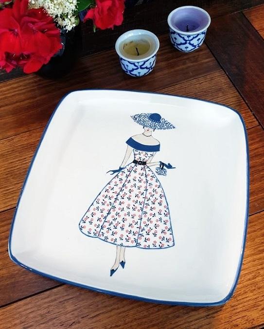 ceramic transfer plate