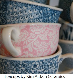 ceramic transfer paper teacups tpp9