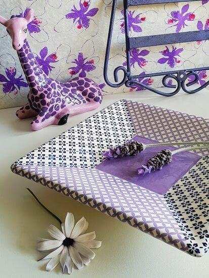 ceramic transfers geometric patterns