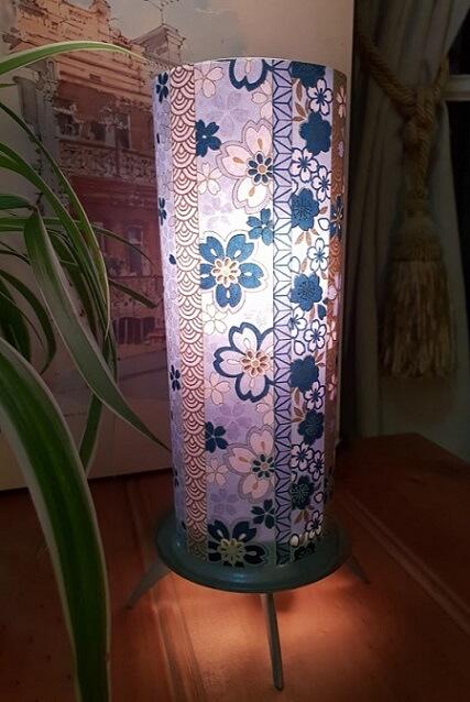 yuzen paper lamp