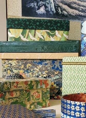 green washi paper