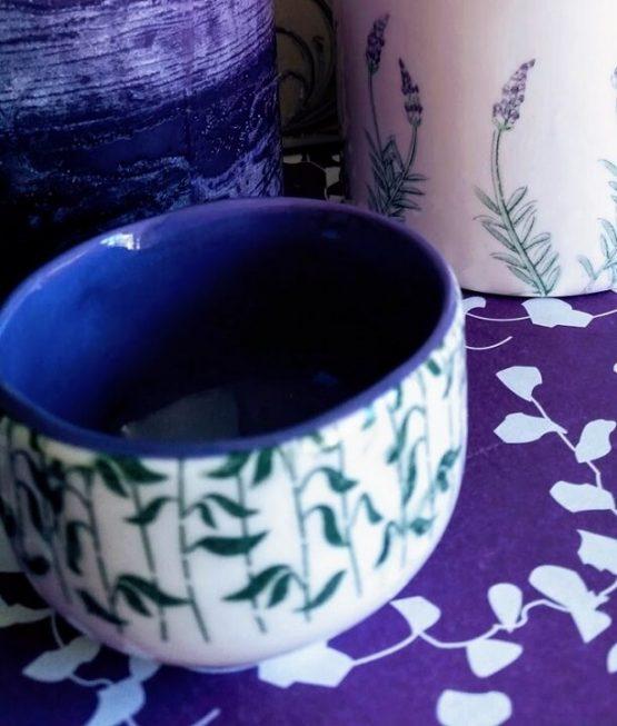 ceramic tissue transfer bowl