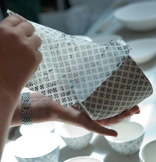 ceramic transer paper cup
