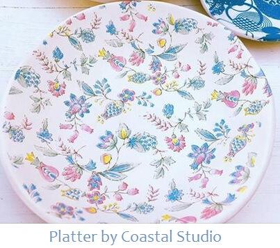 ceramic transfer platter