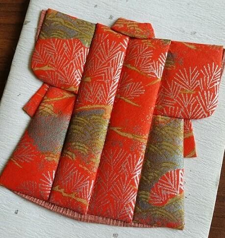 kimono card designs