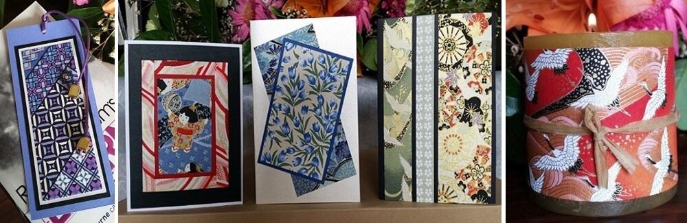 yuzen chiyogami cards