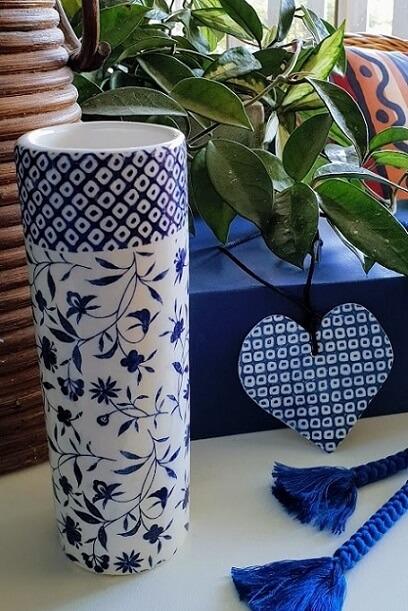 kanako ceramic transfer print