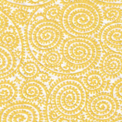 ceramic transfer paper yellow