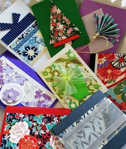 yuzen handmade cards