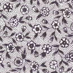 black blossoms ceramic transfer paper