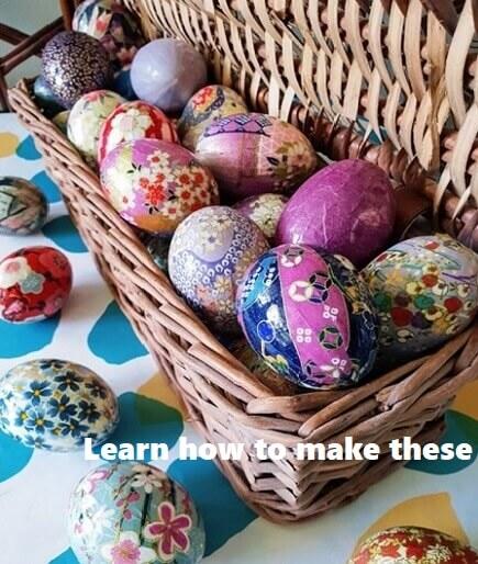 washi eggs kit