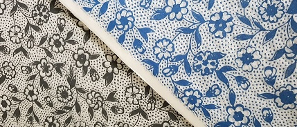 ceramic transfer paper blossoms