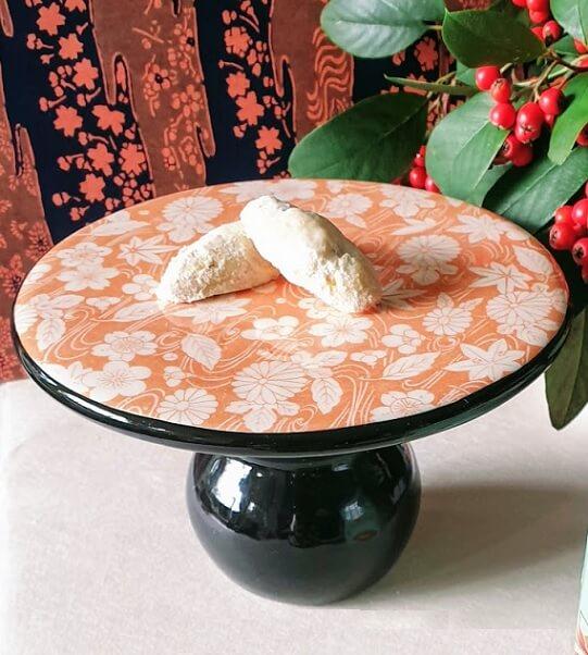 apricot ceramic transfer paper