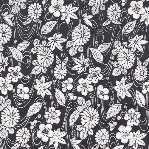 black ceramic transfer paper