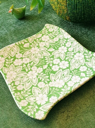 lime gree ceramic transfer paper
