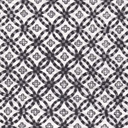 black tiles ceramic transfer paper