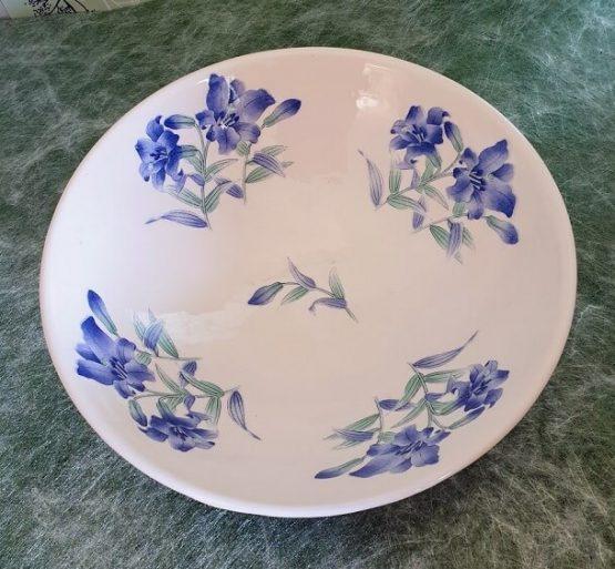 ceramic transfer lilies