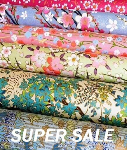 yuzen paper sale