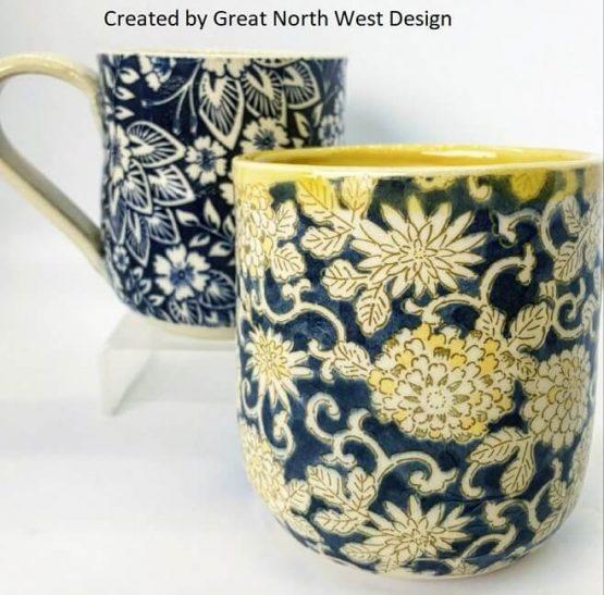 japan crafts ceramic transfers